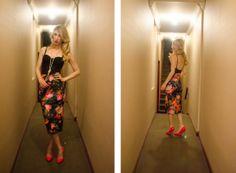 Maggie Winterfeldt Clark / The Editorialite / Dolce & Gabbana Look For Less / Femme Fatale / H&M Pencil Skirt / Nasty Gal Bustier / Boutique 9 Pumps
