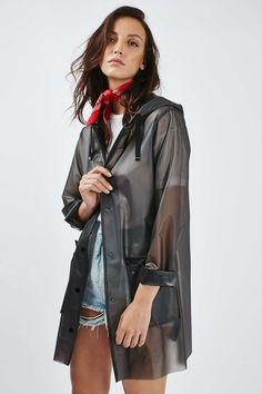 All Clear Plastic Rain Coat Outwear Clear Raincoat