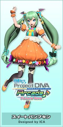 Module | Hatsune Miku Project DIVA Arcade Future Tone Official Website