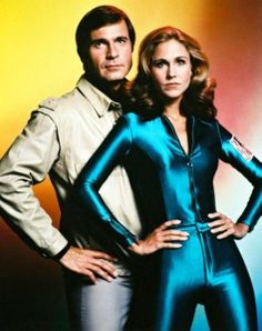 "Capt. William ""Buck"" Rogers (Gil Gerard) & Col. Wilma Deering (Erin Gray) - Buck Rogers in the 25th Century (1979)"