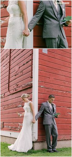 Before the wedding ceremony, the bride and groom exchanged letters at Bruentrup Heritage Farm photographed by Saint Paul wedding photographer Jeannine Marie Photography. Barn Wedding Photos, Barn Wedding Venue, Barn Weddings, Rustic Wedding, Wedding Ceremony, Picture Ideas, Photo Ideas, Wedding Moments, Bride Groom