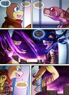 Teenage Mutant Mages Turtles Page 14 by GolzyBlazey on DeviantArt