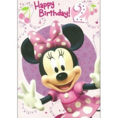 Discover and share Minnie Mouse Birthday Quotes. Explore our collection of motivational and famous quotes by authors you know and love. Birthday Wishes For Kids, Birthday Girl Quotes, Happy Birthday Pictures, Happy 2nd Birthday, Happy Birthday Greetings, Birthday Messages, Birthday Memes, Birthday Cupcake Images, Happy Birthday Cupcakes