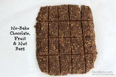 Best no-bake bars ever! Easy, inexpensive, healthy and delicious.