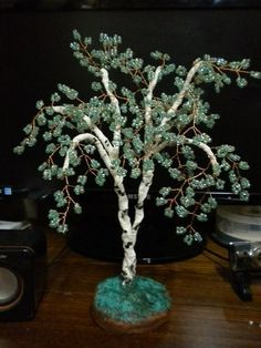Little tree of beads