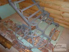 Металлический #каркас лестницы - основа ее надежности и долговечности…
