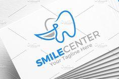 Smile Center | Dental | Logo by REDVY on @creativemarket