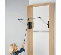 Use This Pull Down Closet Rod Available In The Small Size To Keep Your  Closet Organized