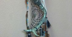 Double Deer Antler Dream Catcher | Finished Projects inspired by fellow pinners | Pinterest | Deer Antlers, Dream Catchers and Antlers