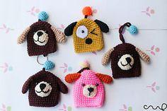 Handmade Crochet Knit Animal Key Cover Keyring Chain Protective ...