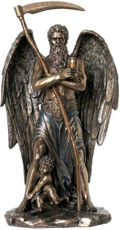 Chronos Statue- Greek God of Time from the Greek and Roman Reproduction Art Sculpture Collection available at AllSculptures.com