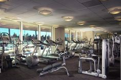 Gym at 5 star hotel: Mantra on Russell Apartments. This hotel's address is: 3000 and have 220 rooms Two Bedroom Suites, One Bedroom, Trump International Hotel, Chicago Hotels, Us Destinations, Custom Vanity, Spa Tub, Italian Marble, Luxury Sofa