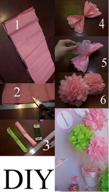 How to make Pom Poms - any colour possible!