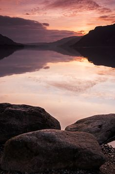 Sunrise/Sunsets at Ullswater  England