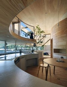 Pit House by UID Architects. This house is in a pit, but I'd still love to live in it.