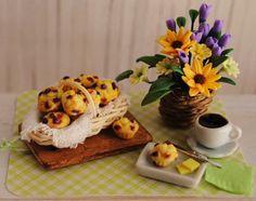 Miniature Blueberry Muffins