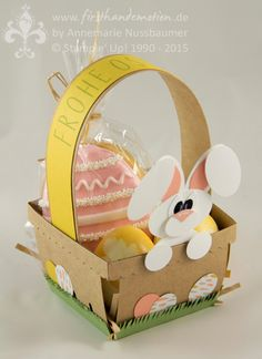 Stampin' Up! by First Hand Emotion: Osterkörbchen / Easter Basket