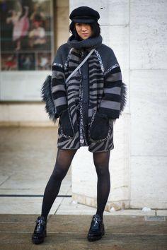 Street Style: New York Fashion Week A/W 2014 Day 1