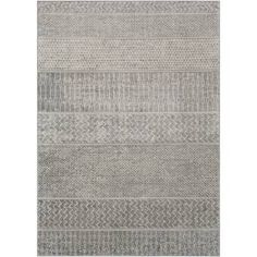 Add a simplistic and chic appeal to your living space with this Artistic Weavers Dalach Dark Gray Area Rug. No backing, use of rug pad recommended.