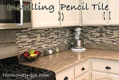 The Kim Six Fix: Installing A Pencil Tile Backsplash (And Cost Breakdown)