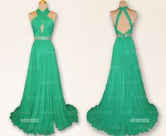 Hey, I found this really awesome Etsy listing at https://www.etsy.com/listing/167312215/green-prom-dresses-emerald-green-prom