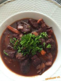 Meat, Food, Beef Bourguignon, Essen, Meals, Yemek, Eten