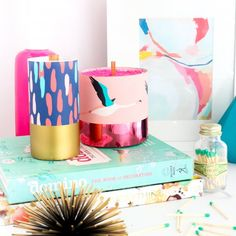 Velas decorativas DIY http://cursodeorganizaciondelhogar.com/velas-decorativas-diy/ #Decoracion #DIY #hazlotumismo #Ideasdedecoracion #IdeasDIY #Tipsdedecoracion #VelasdecorativasDIY #Velasdiy