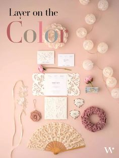 Learn how to combine colors to create the look you want for your wedding. Tie it all together like a pro