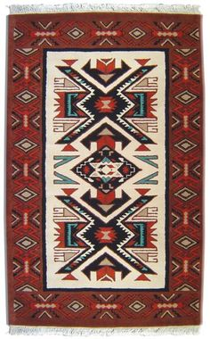 Hand-Tufted Wool Rug - cheap rugs - El Paso saddle company
