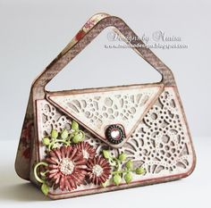 Designs by Marisa: Tonic Studios Chelsea Bag and Daisy Card Ensemble