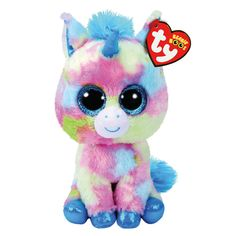 48d5f70613e TY Beanie Boo Medium Blitz the Unicorn Plush Toy Ty Plush