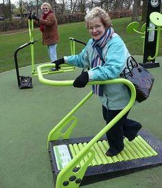 Gym Equipment in public park