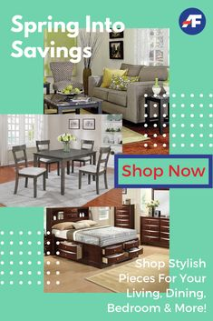 Update your spaces with living room ideas, dining room ideas and bedroom ideas at prices you can't afford to miss when you Spring Into Savings at your local American Freight Furniture and Mattress. New Furniture, Living Room Furniture, Outdoor Furniture Sets, Outdoor Decor, American Freight Furniture, Awesome Bedrooms, Living Room Sets, Apartment Living, Your Space