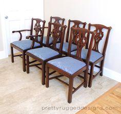 Henkel Harris Mahogany Set Of 6 Dining Room By PrettyRuggedDesigns