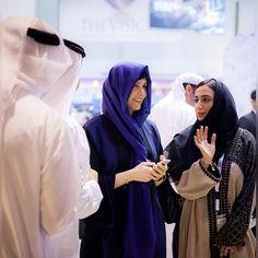Latifa bint Mohammed bin Rashid Al Maktoum (1ª), Arabian Travel Market, 09/05/2015. Vía: latifamrm1