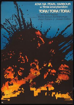 Polish film poster: Tora! Tora! Tora!, 1970
