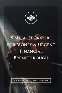 8 powerful prayers for money when you urgently need a financial breakthrough. Apply these prayers to achieve the money miracle you deserve! Miracle Prayer For Money, Money Prayer, Prayer For Finances, Financial Prayers, Good Prayers, Powerful Prayers, Need Money Now, How To Get Money, Exam Prayer