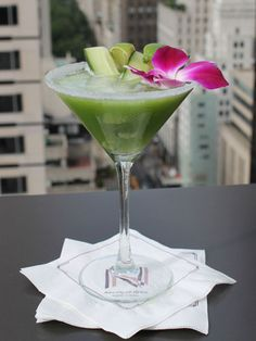 Summer Cocktails - Marie Claire  Cool as a Cucumber    3 oz. Crop Organic Cucumber Infused Vodka  5 slices muddled cucumber  1 oz. fresh lime juice  1 oz. St. Germain Elderflower Liqueur    Shake and strain into a chilled martini glass and garnish with a cucumber spiral.    From Salon de Ning of The Peninsula New York Hotel    Read more: Bagatelle Los Angeles' Le Bajan Groove - Poolside Summer Cocktails - Marie Claire
