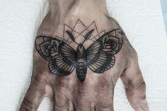 moth tattoo + design on Behance