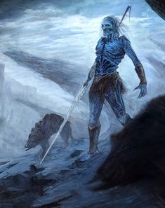 White Walker by bzartt.deviantart.com on @deviantART