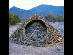 ▶ Andy Goldsworthy environmentalist Artist creates doors and windows wherever he goes...