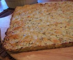 Primal Cheesy Rosemary Focaccia Bread (low-carb and gluten-free)