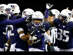 After losing 4 defensive players in the first round of the 2015 NFL Draft and returning few starters, the 'Death Row' Husky defense and its youth movement re. Football And Basketball, College Football, Football Helmets, Washington Huskies Football, Uw Huskies, College Game Days, University Of Washington, First Round, Espn