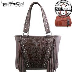 Concealed Handgun Handbag - Trinity Ranch Collection - TR12G-8317