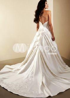 wedding gown train patterns