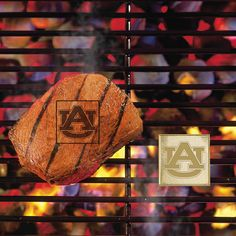 Auburn Tigers NCAA Fan Brands Grill Logo