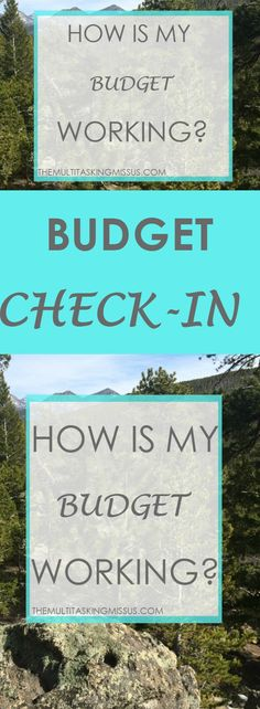 Budget Check-in:  How Is My Budget Working? Are you on a budget?  I am and it sure hasn't been easy.  In fact, it's been impossible.  Find out why I'm not giving up just yet.  http://www.themultitaskingmissus.com/budget-check-in-how-is-my-budget-working/?utm_campaign=coschedule&utm_source=pinterest&utm_medium=The%20Multitasking%20Missus&utm_content=Budget%20Check-in%3A%20%20How%20Is%20My%20Budget%20Working%3F