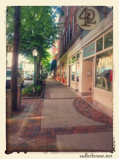 Main Street in Rockland, Maine on a Tuesday night in July. This is just about one of my favorite streets, anywhere. It retains so much of its historical charm and it's chock full of great eateries, bars, and businesses!