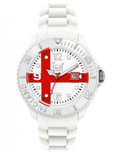 ICE WATCH Steel White England Strap Watch WO.GB.B.S