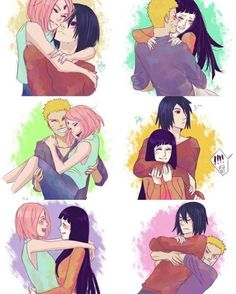 Naruto Couples discovered by Neffie on We Heart It - Image uploaded by Neffie. Find images and videos about love, anime and naruto on We Heart It – th - Naruto Kakashi, Anime Naruto, Naruto Comic, Naruto Shippuden Sasuke, Naruto Fan Art, Naruto Cute, Hinata Hyuga, Gaara, Couples Anime